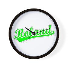 Retro Roland (Green) Wall Clock