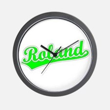 Retro Roland (Green) Wall Clock