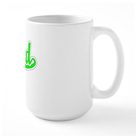 Retro Roland (Green) Large Mug