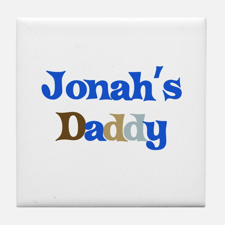 Jonah's Daddy Tile Coaster