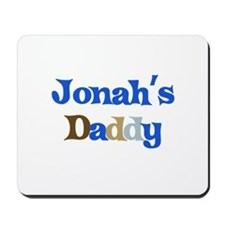 Jonah's Daddy Mousepad