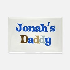 Jonah's Daddy Rectangle Magnet