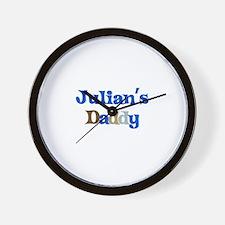 Julian's Daddy Wall Clock