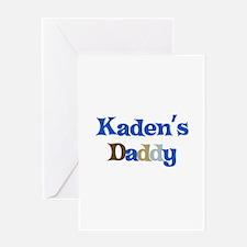 Kaden's Daddy Greeting Card