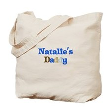 Natalie's Daddy Tote Bag