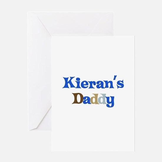 Kieran's Daddy Greeting Card