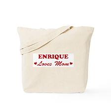 ENRIQUE loves mom Tote Bag