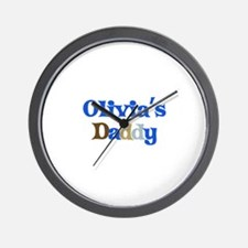 Olivia's Daddy Wall Clock