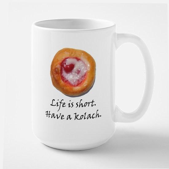 Czech Pride Kolach Large Mug