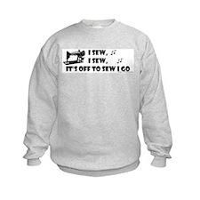 I Sew, I Sew Sweatshirt