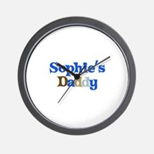 Sophie's Daddy Wall Clock