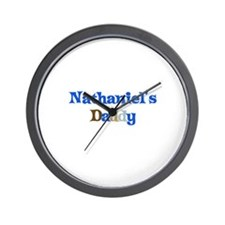 Nathaniel's Daddy Wall Clock