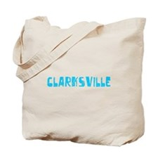 Clarksville Faded (Blue) Tote Bag