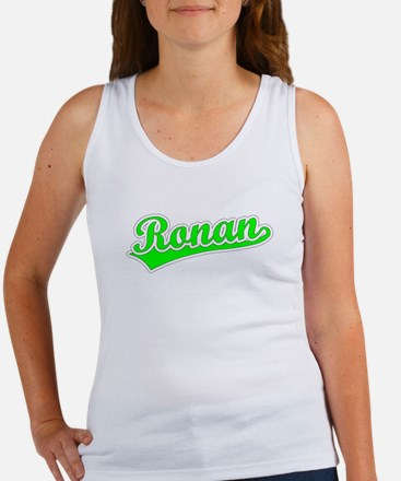 Retro Ronan (Green) Women's Tank Top