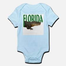 Florida State Alligator Infant Creeper