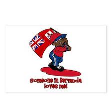 Someone in Bermuda loves me! Postcards (Package of