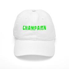 Champaign Faded (Green) Baseball Cap