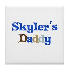 Skyler's Daddy Tile Coaster