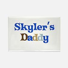 Skyler's Daddy Rectangle Magnet
