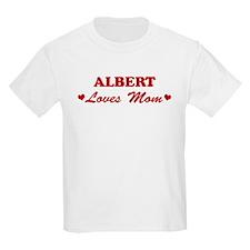 ALBERT loves mom T-Shirt