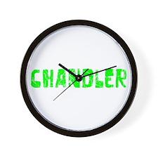 Chandler Faded (Green) Wall Clock