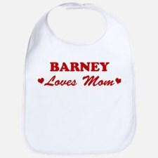 BARNEY loves mom Bib