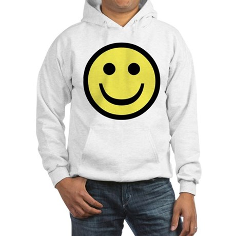 Smiley Face Hooded Sweatshirt