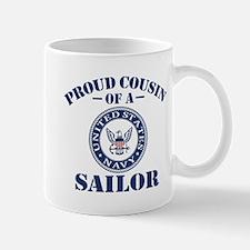 Proud Cousin Of A US Navy Sailor Mug