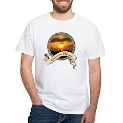 Amapola House in Rincon, PR White T-Shirt