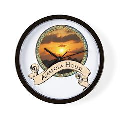 Amapola House in Rincon, PR Wall Clock