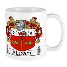 Sloan Coat of Arms Small Mug