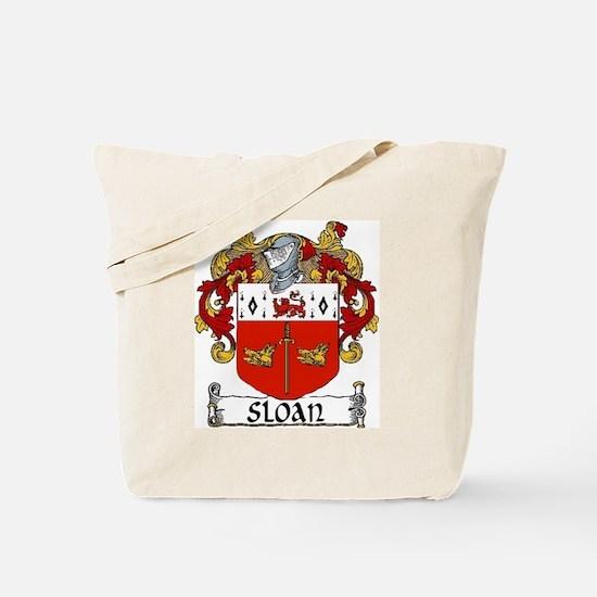 Sloan Coat of Arms Tote Bag