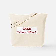 JAKE loves mom Tote Bag