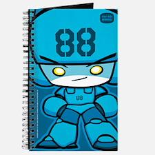 Blue Robot 88 on Blue Journal