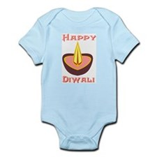 Happy Diwali Infant Creeper