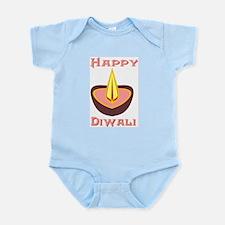 Happy Diwali Infant Creeper