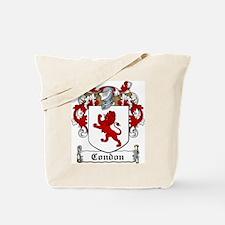 Condon Family Crest Tote Bag