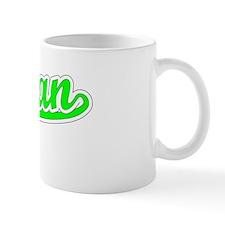 Retro Rowan (Green) Mug