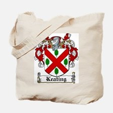 Keating Family Crest Tote Bag