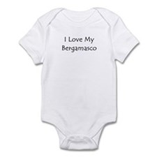 I Love My Bergamasco Infant Bodysuit