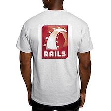 Ruby on Rails Ash Grey T-Shirt