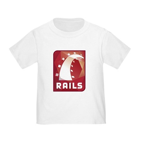 Ruby on Rails Toddler T-Shirt