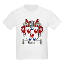 Lally Family Crest Kids T-Shirt