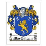 MacColgan Family Crest Small Poster