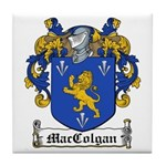 MacColgan Family Crest Tile Coaster