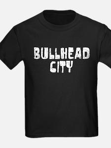Bullhead City Faded (Silver) T