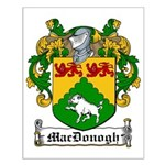 MacDonogh Family Crest Small Poster