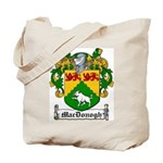 MacDonogh Family Crest Tote Bag