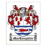 MacLoughlin Family Crest Small Poster