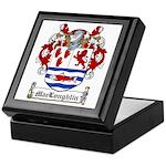 MacLoughlin Family Crest Keepsake Box